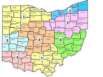 ERS Ohio Map